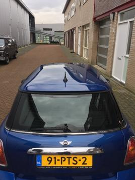 BMW mini resultaat